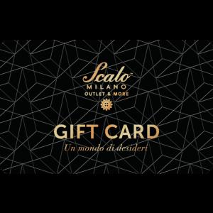 Gift Card Scalo Milano Carta Regalo