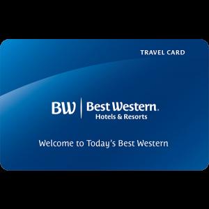 Gift Card Best Western