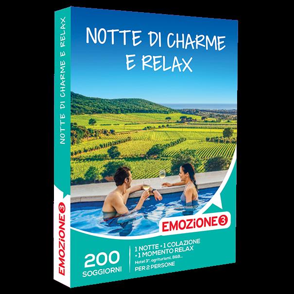 Emozione3 e-box Notte di Charme e Relax €59,90: carta ...