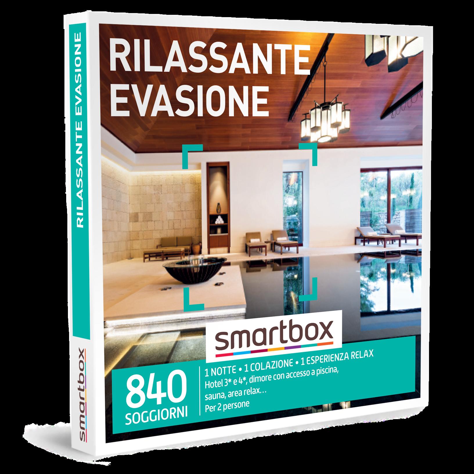 Smartbox e-box Rilassante Evasione €99,90 : carta ...