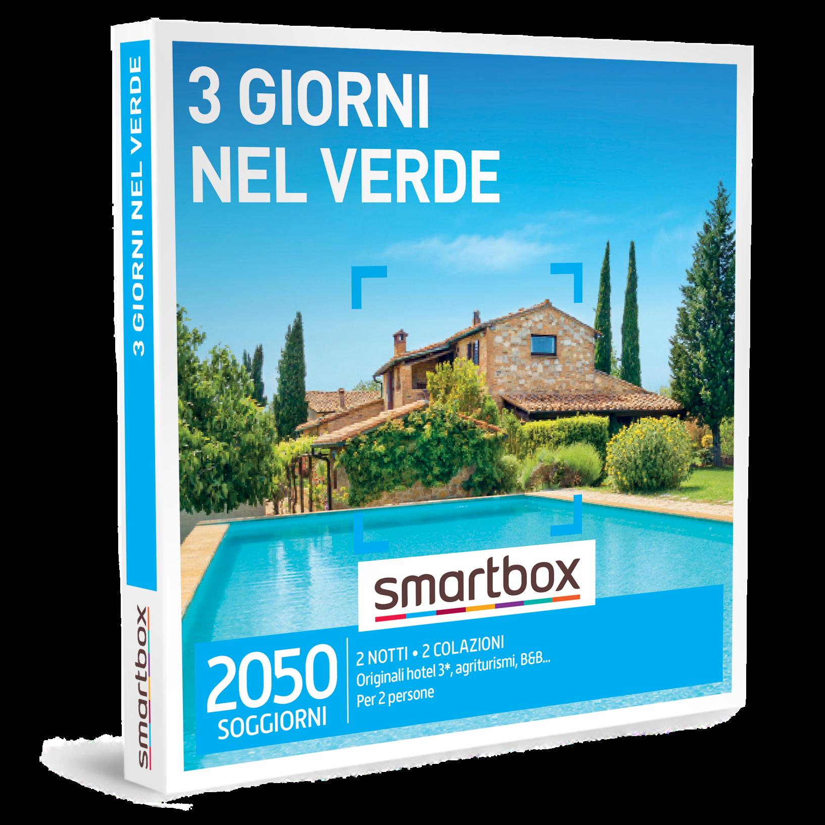 Smartbox e-box 3 Giorni nel Verde