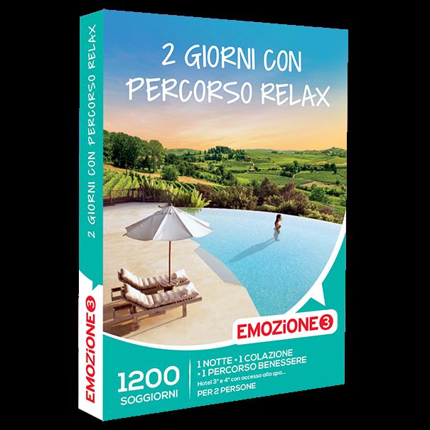 Emozione3 e-box 2 Giorni con percorso relax  €129,90