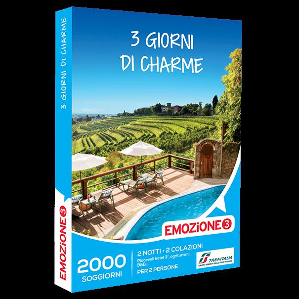 Emozione3 e-box 3 Giorni di Charme €109,90