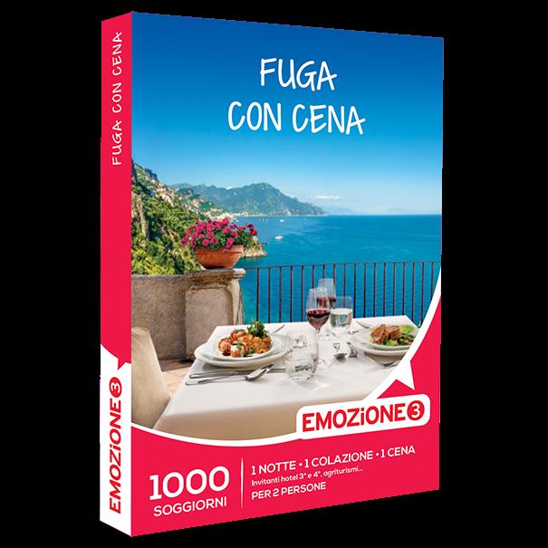 Emozione3 e-box Fuga con Cena €89,90