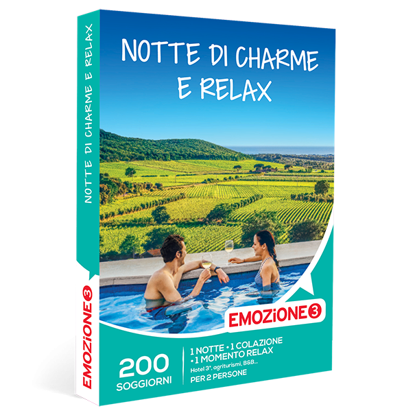 Emozione3 e-box Notte di Charme e Relax €59,90