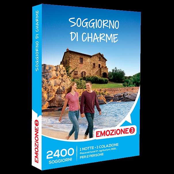 Emozione3 e-box Soggiorno di Charme €59,90