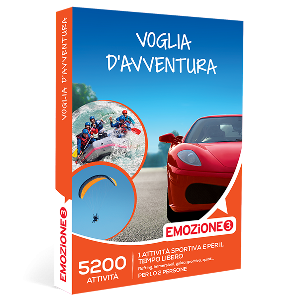 Emozione3 e-box Voglia d'Avventura €49,90