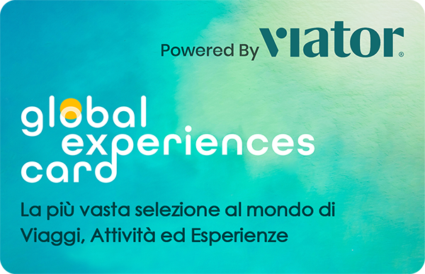 Gift Card Global Experiences Card