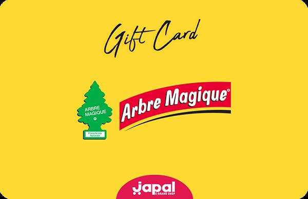 Gift Card Arbre Magique
