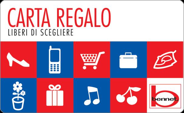 Gift Card Bennet Carta Regalo Supermercati