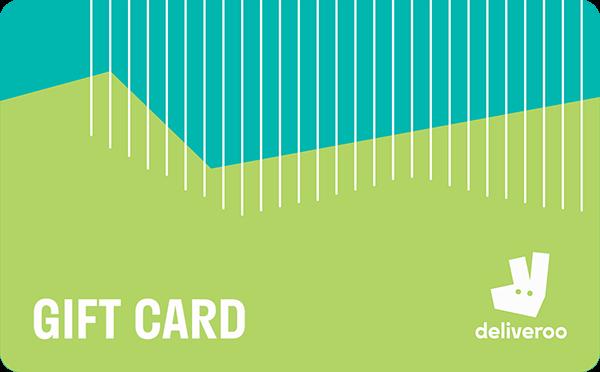 Gift Card Deliveroo consegna cibo a domicilio