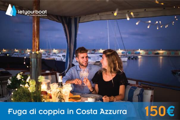 Fuga di coppia in Costa Azzurra