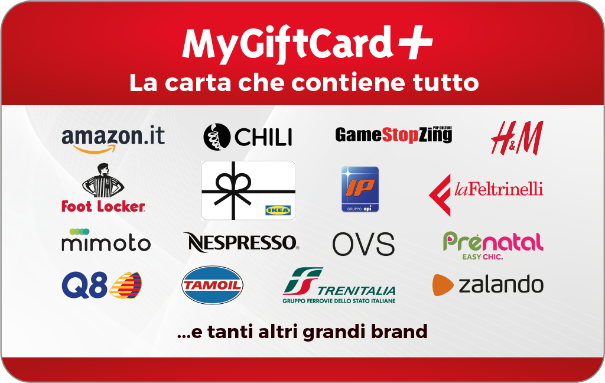Gift Card MyGiftCard Plus + Carta regalo