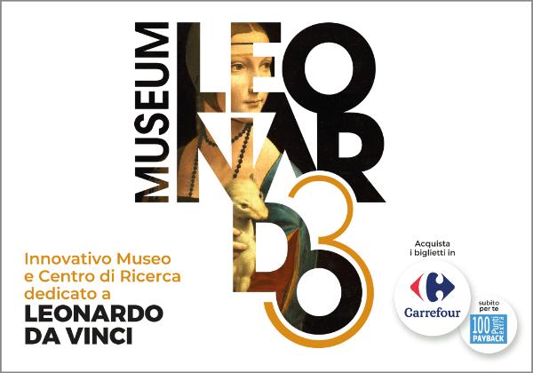 Ticket Leonardo3 Museo Museum Mostra