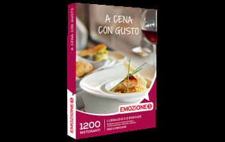 Emozione3 e-box A Cena con Gusto €54,90