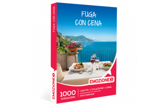 Emozione3 e-box Fuga con Cena