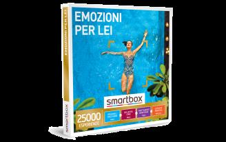 Smartbox e-box Emozioni per Lei  €49,90