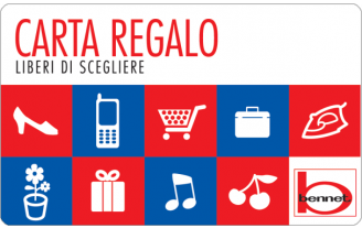 Gift Card Bennet Carta Regalo Supermercati