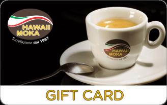 Gift Card Hawaii Moka Caffe