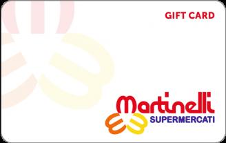 Gift Card Martinelli Supermercati