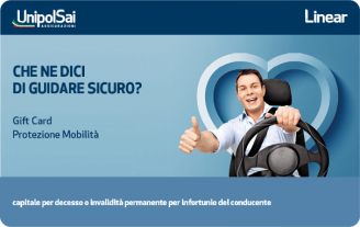 Gift Card UnipolSai Carta Regalo