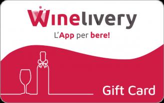 Gift Card Winelivery, consegna vini a domicilio, carta regalo