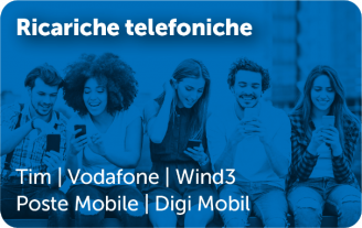 Gift Card Ricariche telefoniche telefonia mobile
