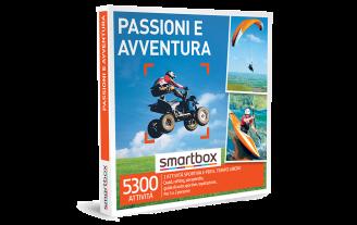 Smartbox e-box Passioni e Avventura  €49,90