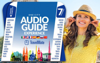 TravelMate Audioguide Experience Card