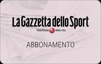 Gift Card La Gazzetta dello Sport