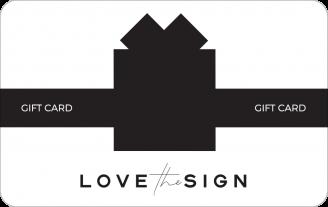 Gift Card Lovethesign Carta Regalo