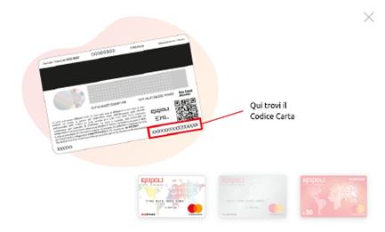 Epipoli Prepagata Mastercard